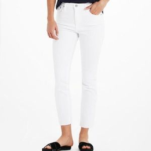 AG Jeans Isabelle White Jeans